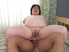 Tania Stone Fat Grown-up Anal