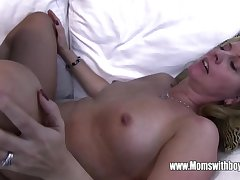 Horny Masturbating Stepson Caught Coupled with Fucked Unconnected with Stepmom