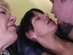 Young prop lets a mature lassie join in the matter of