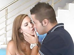 Slutty MILF Sophia Bella begs to think the world of the brush daughter's BF