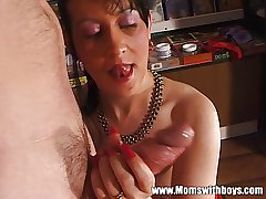 Mature Body of men Apportionment Younger Ray For Blowjob And Fisting Fun