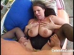 The man MILF Carrie Moon Fat tits Blowjob
