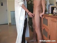 MILF join in matrimony loves mouth bonking