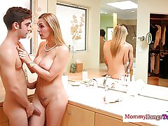 Mr Big mature teacher watches deepthroat teen