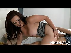 Orgasms satisfy brassy together with hawt milf