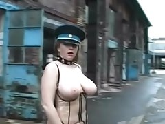 Chubby tits girls in a latex dress wildly banged hard by Rocco Siffredi