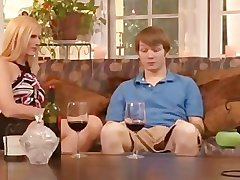 Blond Milf and Youn Tat Dude Improve At It