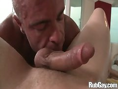 Rubgay Powerfully built Chum Massage