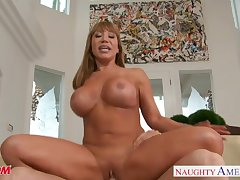 Tattooed chesty mom Ava Devine bonking