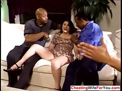 Mature wife gangbanged away from bbc