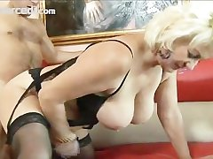 Adult Dana Hayes Swallows Cum