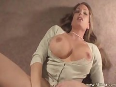 MILF Wears Pearl and Blows