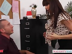 Post milf babe back stockings Dana Dearmond bonking