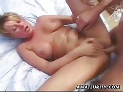 Mature amateur wife homemade anal in all directions facial cumshot