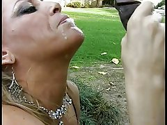 Grown-up sickly unspecific gives a deepthroat blowjob to a lucky young nefarious tramp