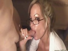 This MILF Is a Bad Secretary!