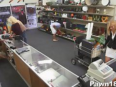 Sexy Milf at the Pawn Shop