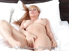 HD PureMature - Sasha Seans man has hot plans be worthwhile for their way tight pussy