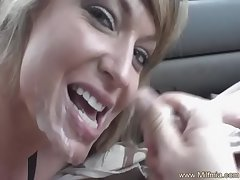 Blowjob Makes Cum In Her Railway carriage
