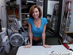 Big Titty MILF has Dealings give Office