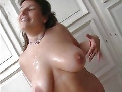 French adult chubby try old and young cock