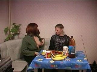 Russian mammy gets fucked