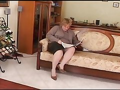 obese mature play on siamoise