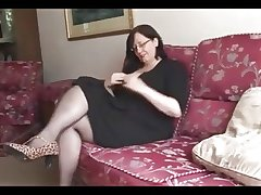 Hot BBW Mature shows first-rate body