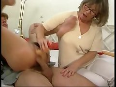 German mom added to daughter in some groupsex step