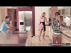 stepmom has sexual relations nearly daughter and the brush girlfriend 23