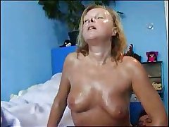 Mature Gets Hot and Sweaty
