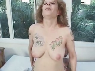 Tap-tap Flimsy Milf Drag inflate and Fuck