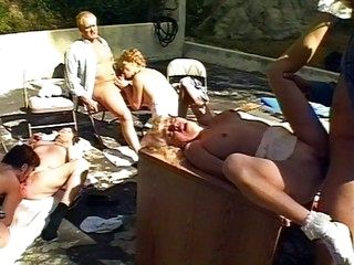 Outdoor group sex lessons