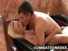 Tabitha James gets greater than the brush knees to give a blowjob