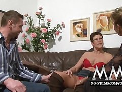 MMV Films Corroded mature wife gets blarney