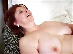 Venerable Mature Woman Sucks & Fucks