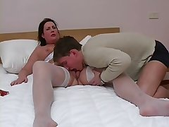 Mature Inclusive In Nylons Getting Fucked