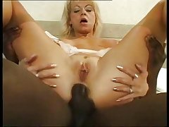Off colour Grown up 34 mother and young black dick