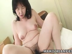 Sumie Nagai - Cock Postulated JAV Mature Riding A Young Tramp
