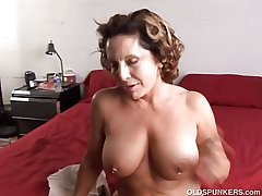 Fit old spunker enjoys a everlasting fuck and a wooden facial cumsh