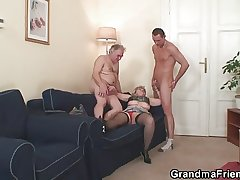 Mature threesome command
