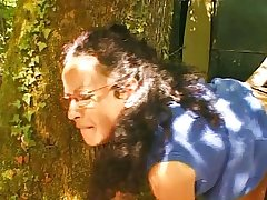 French matured soft housewife outdoor