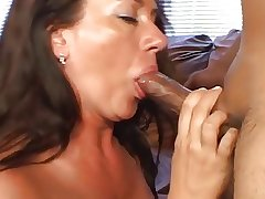 Mature Gets Jizzed On Will not hear of Hairy Snatch