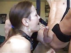 Adult Deepthroating coupled with Swallowing