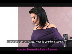FemaleAgent Transcribe cumshot surprise for MILF