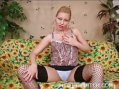 Whore Mature MILF Solo