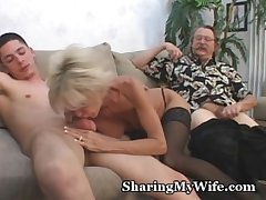 Mature Couple Back 3some Sex Diversion