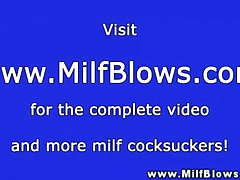 Abstruse full-grown milf sucking locate and cant get equal