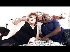 Grandma gets Pussy Pounded overwrought Big Black Cock