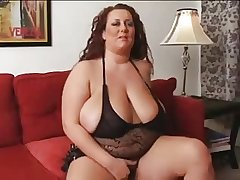 Solely bbw of age woman with chubby tits